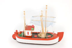 Toy Fishing Boat Royalty Free Stock Images