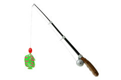 Toy Fishing Rod royalty free stock images
