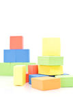 Toy Foam Blocks Royalty Free Stock Photo