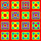 Toy foam pattern Royalty Free Stock Photos