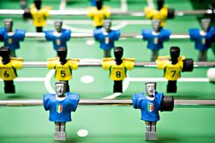 Toy football royalty free stock image