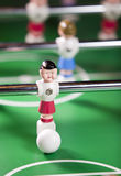 Toy football player with a ball Royalty Free Stock Photos