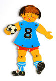 Toy football player Royalty Free Stock Photography