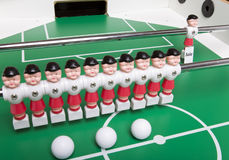 Toy football players Royalty Free Stock Photography