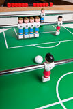 Toy football players Stock Image
