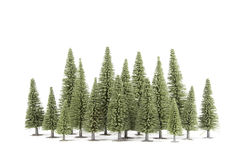 Toy forest Royalty Free Stock Image