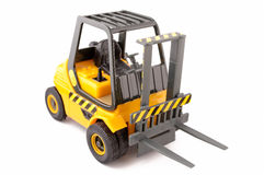 Toy forklift Royalty Free Stock Photos