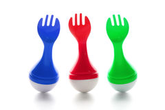 Toy Forks Stock Images