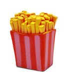 Toy French Fries Royalty Free Stock Images