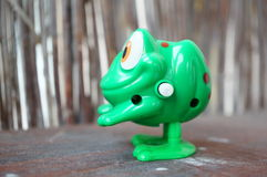 Toy frog Stock Photo