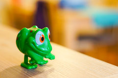 Toy frog Royalty Free Stock Images
