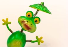 The Toy Frogs stock photo