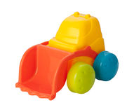 Toy Front Loader (clipping path) Royalty Free Stock Photography