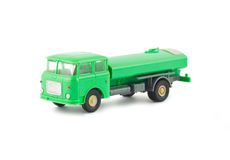 Toy fuel tanker truck Royalty Free Stock Photos