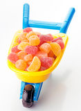 Toy full of sugary jellies Royalty Free Stock Photography