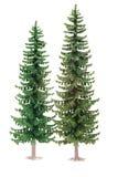 Toy fur-trees Royalty Free Stock Photos