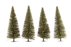 Toy fur-trees Royalty Free Stock Image