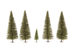 Toy fur-trees Royalty Free Stock Photography