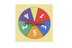 Toy Game Wheel Stock Photo