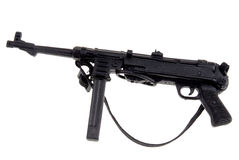 Toy german machine gun Stock Photos