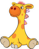 Toy giraffe cartoon Royalty Free Stock Photography