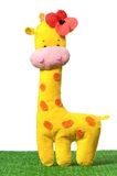Toy giraffe Stock Photography