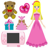 Toy for girls Stock Images