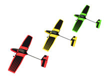 Toy Gliders Royalty Free Stock Photos