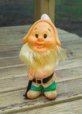 Toy Gnome Stockbild