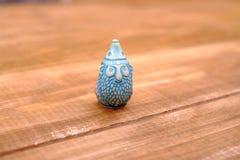 Toy gnome, shelf Royalty Free Stock Photos