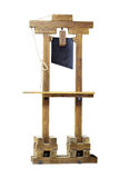 Toy Guillotine. The image of a Toy Guillotine Stock Photos