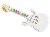 Toy guitar Stock Photo