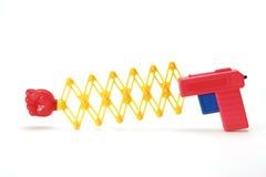 Toy Gun. On White Background Stock Image