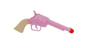 Toy Gun. A Pink Child's Toy Gun Stock Images