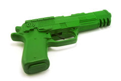Toy gun with clipping path Royalty Free Stock Photos