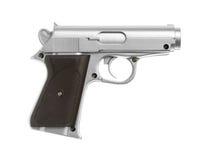 Toy gun. Plastic toy gun isolated on white background Stock Image