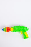 Toy gun with spinning top Stock Images