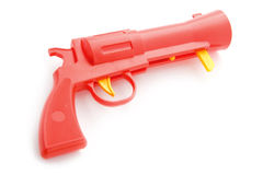 Toy gun on white Stock Photography