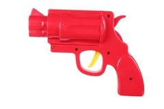 Toy Gun. On White Background Royalty Free Stock Photos