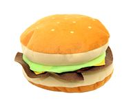 Toy hamburger Royalty Free Stock Images