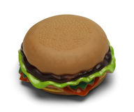 Toy Hamburger Stock Photo