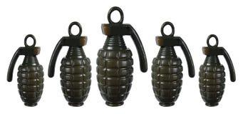 Toy Hand Grenades Fotografía de archivo libre de regalías