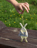 Toy rabbit Stock Images