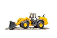 Toy heavy bulldozer Stock Photos