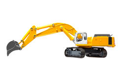 Toy heavy excavator Royalty Free Stock Photography