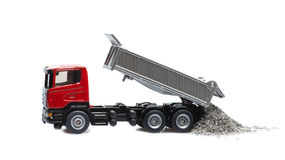 Toy heavy truck Royalty Free Stock Images