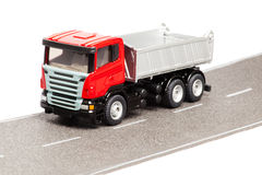 Toy heavy truck Royalty Free Stock Photo