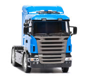 Toy heavy truck Stock Photos