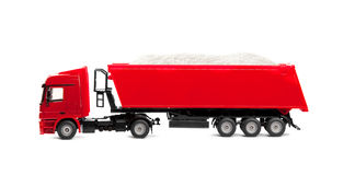 Toy heavy truck Stock Images