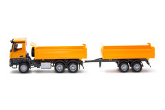 Toy heavy truck Royalty Free Stock Photos